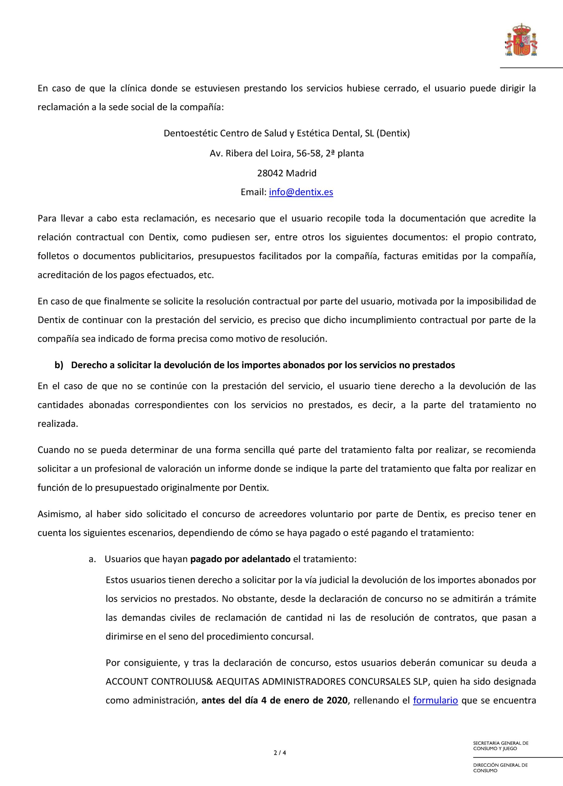 20201212 Nota informativa Dentix 2 actualizacion Pgina 2